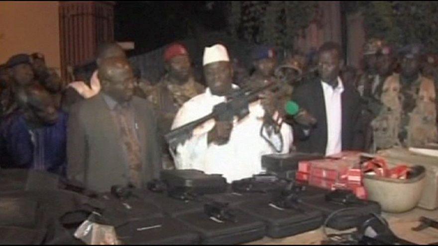 Presidente da Gâmbia acusa países ocidentais de fornecerem armas a dissidentes