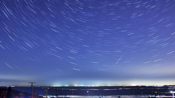 The first meteor shower of 2015 peaks this weekend