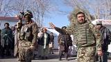 Afghan soldiers arrested after rockets kill wedding guests