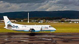 Αεροπλάνο βγήκε από τον δίαυλο λόγω των ισχυρών ανέμων!