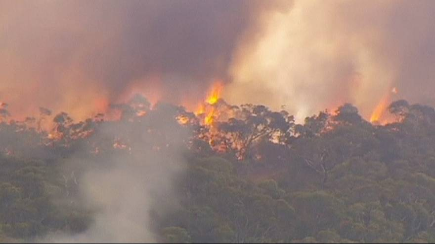 Fires rage in southern Australia as temperatures soar