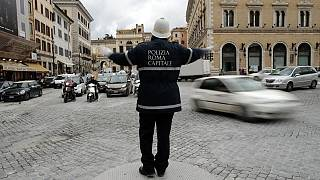 Ρώμη: Το 83,5% των τροχονόμων «αρρώστησε» ξαφνικά την Πρωτοχρονιά!