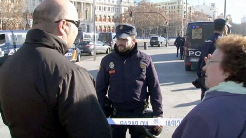 Terrorisme : grosse frayeur à Madrid