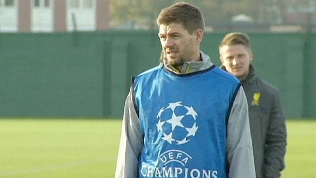 Stevie G the leaving of Liverpool