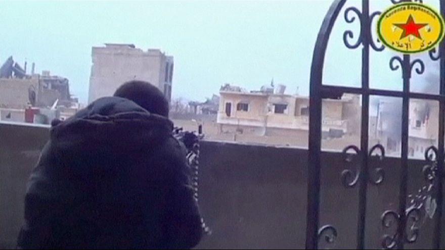 Las fuerzas kurdas controlan el 70% de Kobani