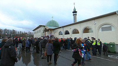 Demos gegen Islamfeindlichkeit in Schweden