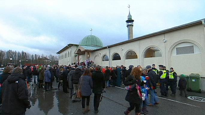 Swedish city's outpouring of love for Muslims after mosque attacks