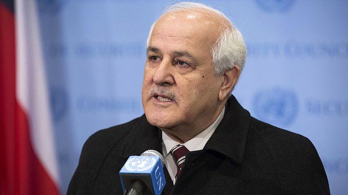 Filistin'in Uluslararası Ceza Mahkemesi'ne katılım belgesi BM'de