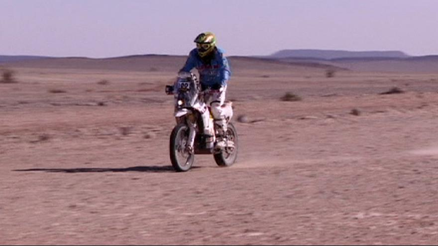 Africa Eco Race : statu quo chez les motos