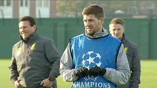 Steven Gerrard a caminho do futebol americano