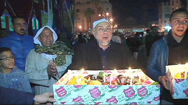 Mohamed próféta születését ünnepli Kairó