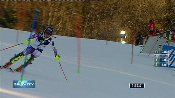 """Mikaela Shiffrin crowned """"Snow Queen"""" on the slopes in Zagreb"""