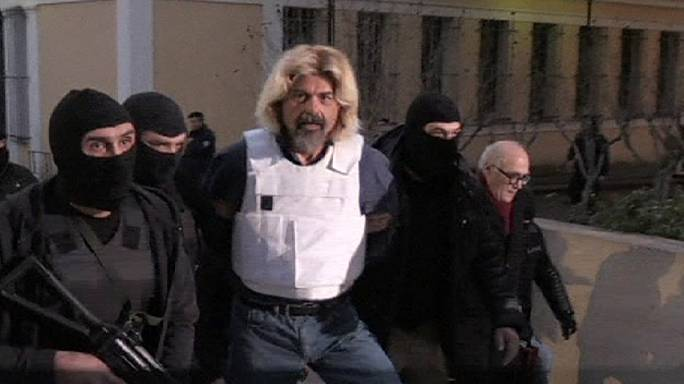 Captured Greek terrorist Xiros was plotting an armed assault on a prison in the next few days - police