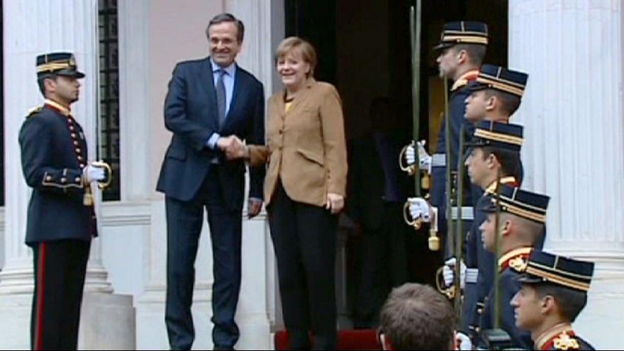 ميركل: لا مانع من خروج اليونان من منطقة اليورو إذا فاز حزب سيريزا في الانتخابات