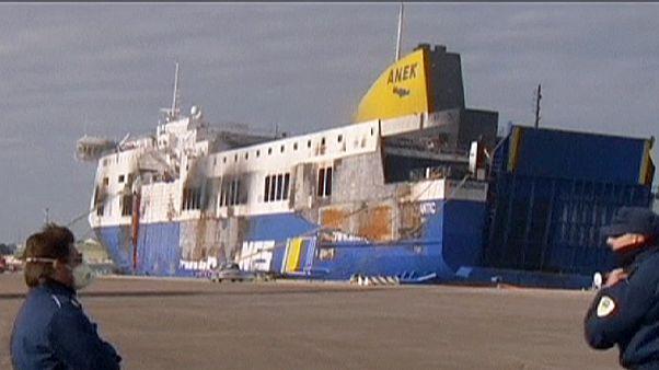 Norman Atlantic yangınıyla ilgili soruşturma devam ediyor