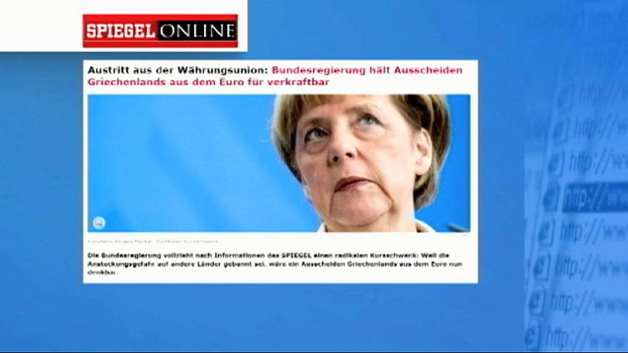Grèce : l'Allemagne moins catégorique sur une sortie de l'euro