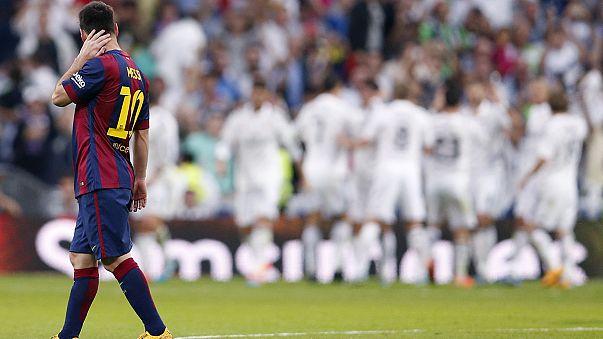 """""""Корнер"""": """"Реал"""" и """"Барселона"""" начали год с поражений"""