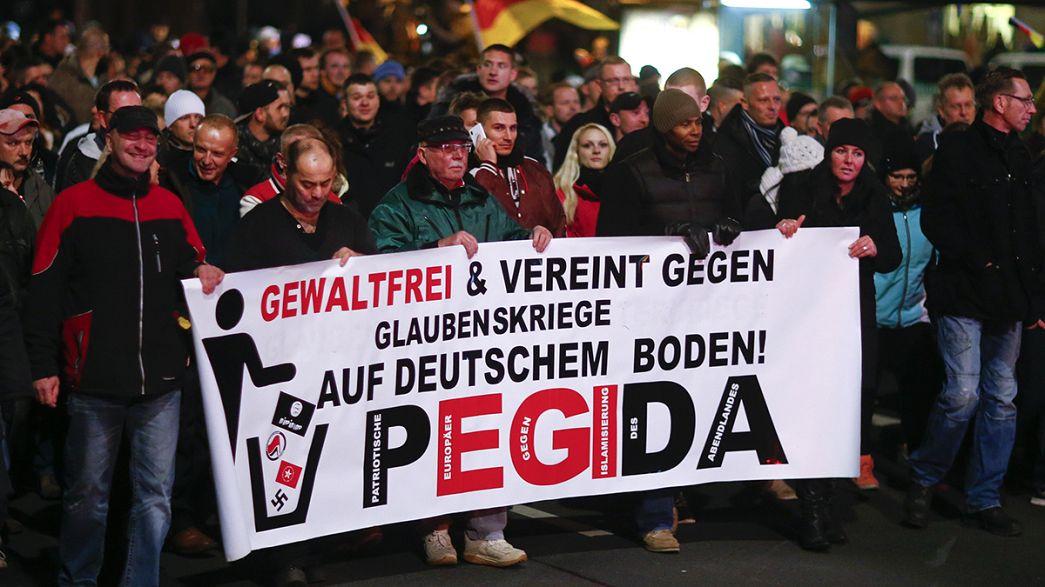 Pegida : le mouvement islamophobe allemand prend de l'ampleur