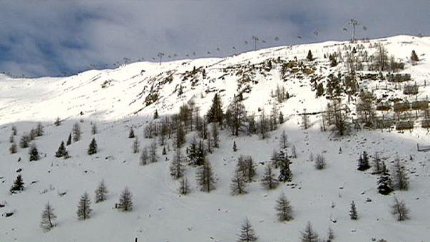 Kayak pistinde acı ölüm