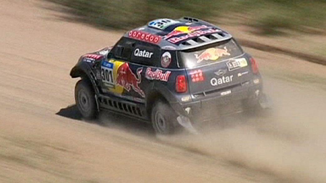 Dakar 2015: Gonçalves sólido com Rúben Faria e Carlos Sousa a subir