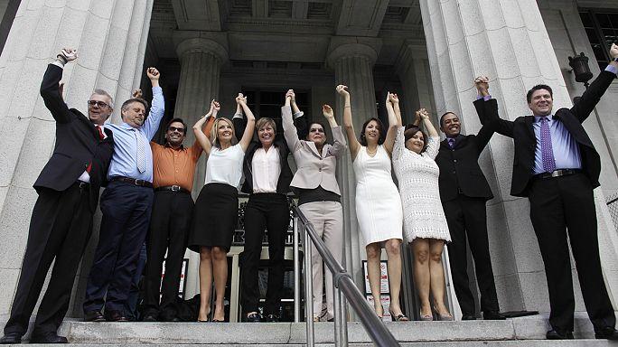 Florida eşcinsel evliliğe ilk adımı attı