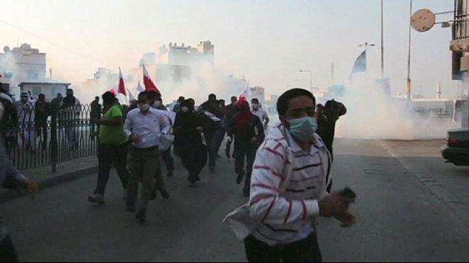La colère des manifestants chiites au Bahreïn