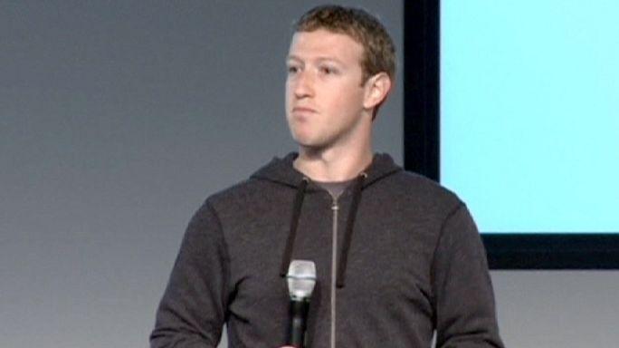 Les bonnes résolutions de Mark Zuckerberg en une de Facebook