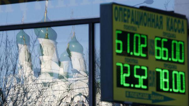 Les troubles du rouble et la réaction des Russes