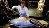 Tuna sells for 32,000 euros in first Tokyo auction of 2015