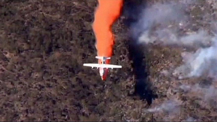 Pusztító tűz Dél-Ausztráliában