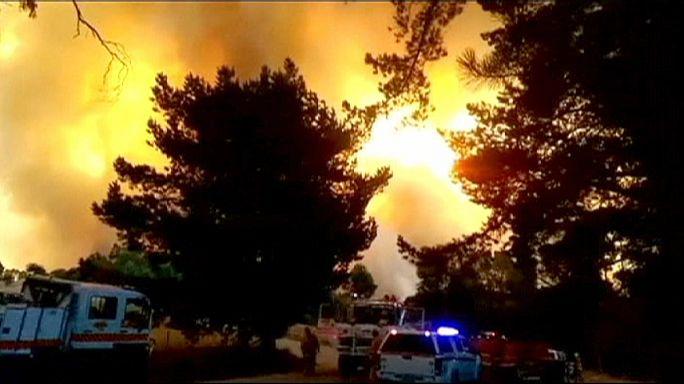 Australie : la région d'Adélaïde ravagée par les flammes