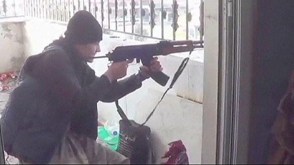 Ofensiva de los yihadistas del Estado Islámico para recuperar Kobani