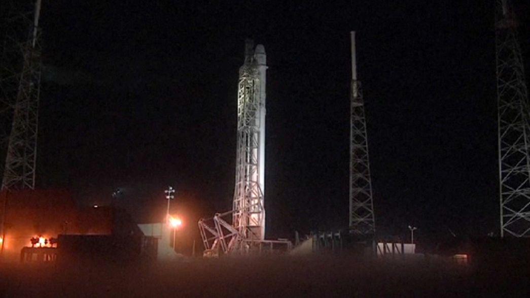 SpaceX aplaza el lanzamiento de su quinta misión a la EEI