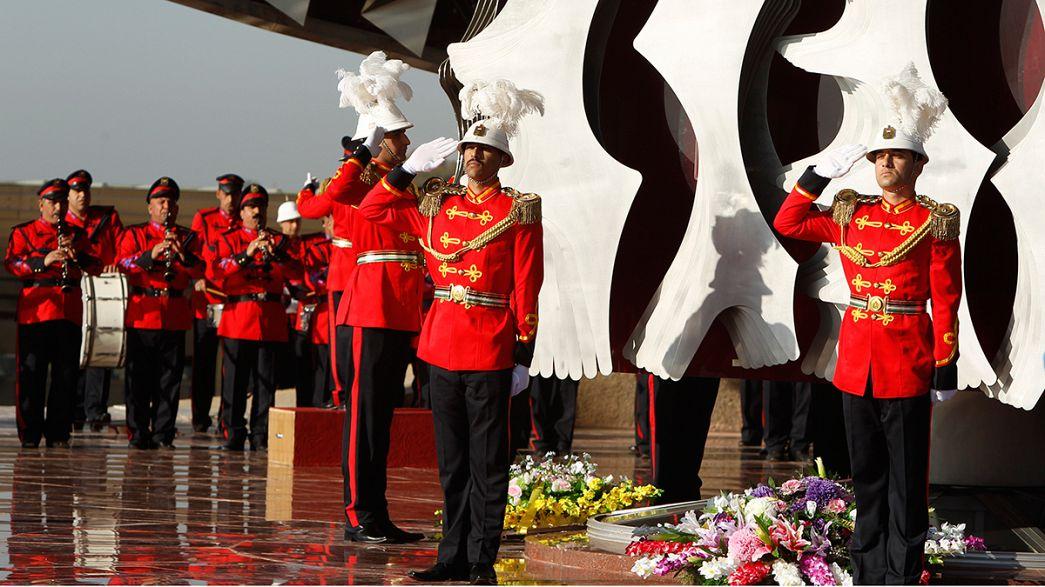 Entre divisões, Iraque celebra as Forças Armadas