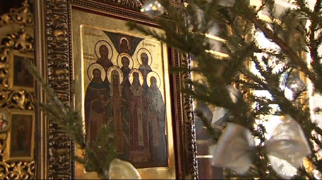 Las celebraciones ortodoxas durante la Navidad