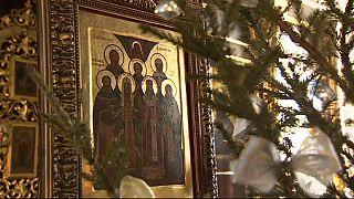 مسیحیان ارتدوکس کریسمس را جشن گرفتند