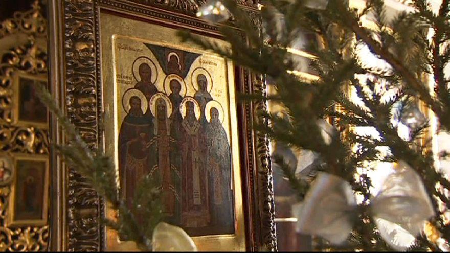Veille de Noël en Russie, en Syrie et à Bethléem