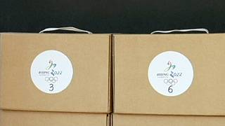 Beijing hand over candidature files for 2022 Winter Olympics