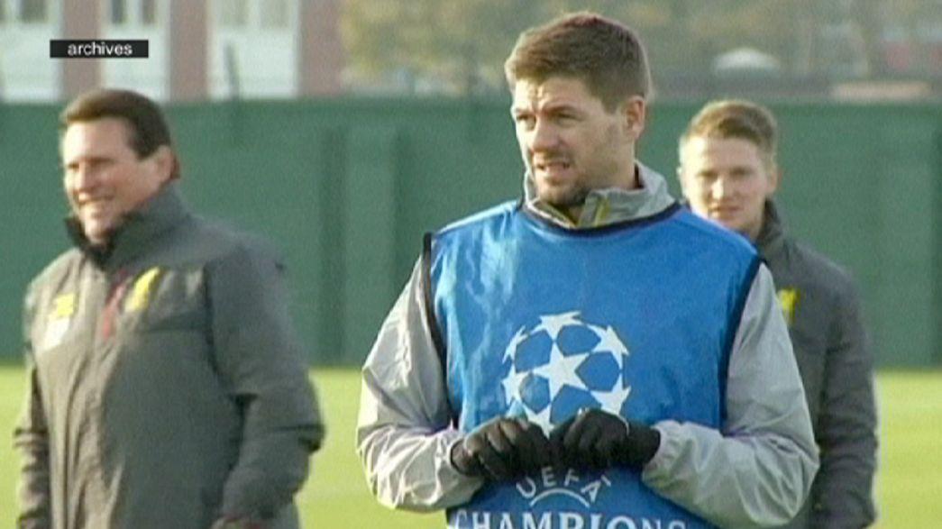 Steven Gerrard com um pé no Los Angeles Galaxy