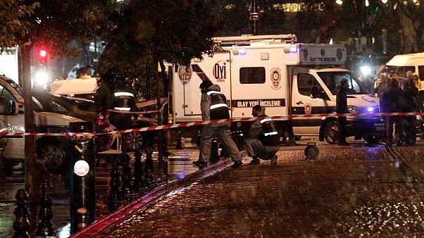 Öngyilkos merénylet Isztambulban