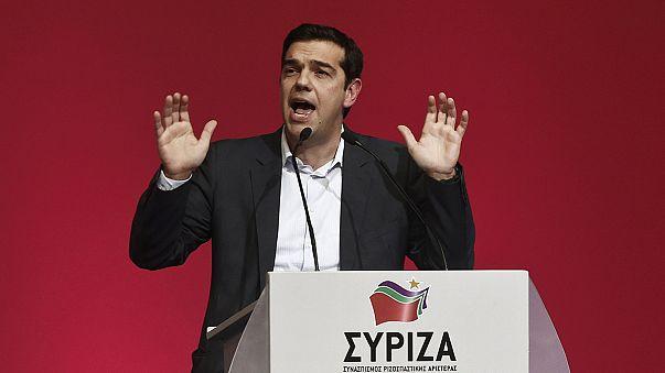 Tsipras' rasanter politischer Aufstieg