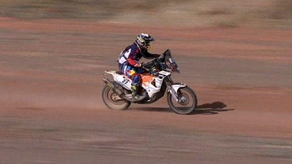 Matthias Walkner estreia-se a vencer num dia em que a morte regressou ao Dakar