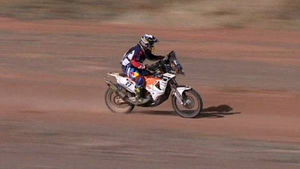 Dakar Rally: Walkner and Terranova celebrate stage three victories