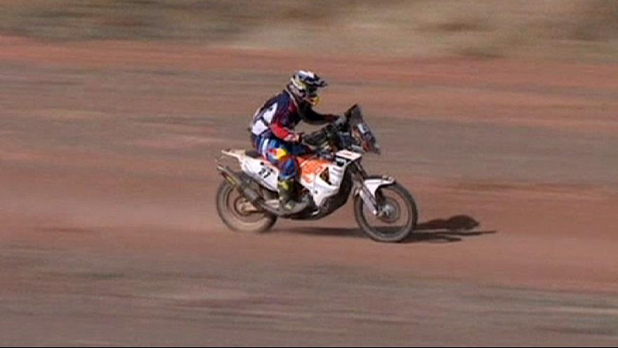Dakar Rally: Walkner and Terranova celebrate stage three victories