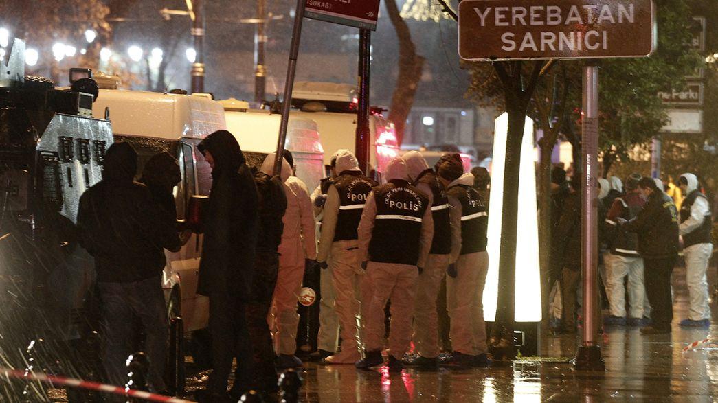 İstanbul'daki saldırıda DHKP-C iddiası