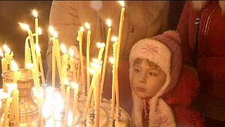 Orthodoxes Weihnachtsfest: Prorussische Rebellen beschenken ukrainische Soldaten