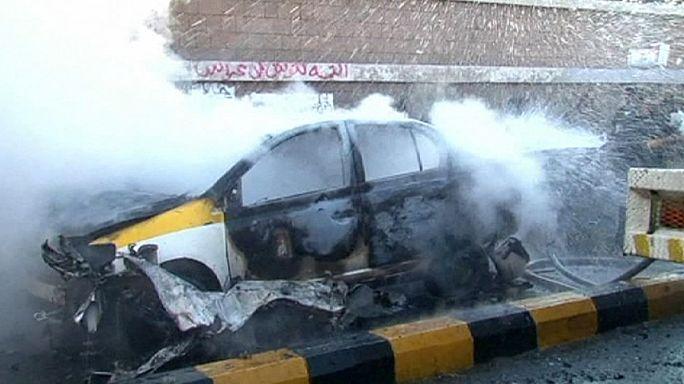 Car bomb in Yemen kills at least 30 outside Sanaa military college