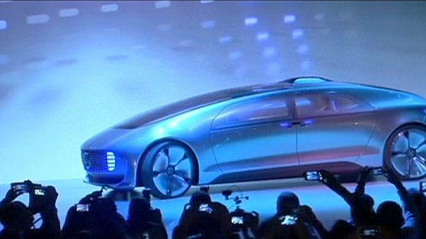 A Mercedes-Benz bemutatta legújabb önjáró koncepcióautóját