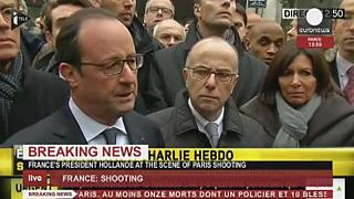 Le président Hollande dénonce un attentat terroriste de barbares