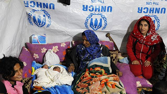 Syrian refugees now outnumber any others getting UNHCR care